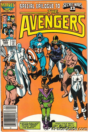 avengers 266 cpv canadian price variant image