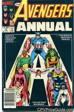 avengers annual 12 cpv canadian price variant image