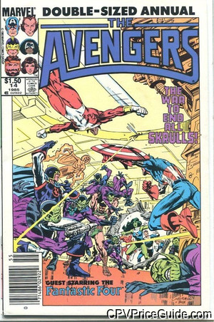 avengers annual 14 cpv canadian price variant image