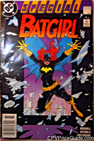 batgirl special 1 cpv canadian price variant image