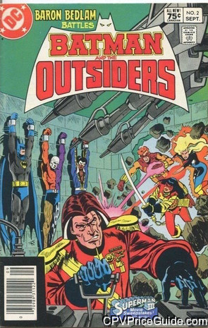 batman and the outsiders 2 cpv canadian price variant image