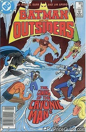 batman and the outsiders 6 cpv canadian price variant image
