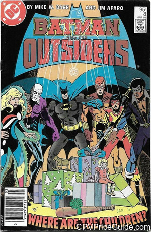 batman and the outsiders 8 cpv canadian price variant image
