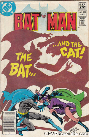 batman 355 cpv canadian price variant image