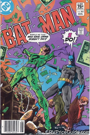 batman 362 cpv canadian price variant image