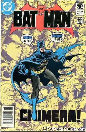 batman 364 cpv canadian price variant image