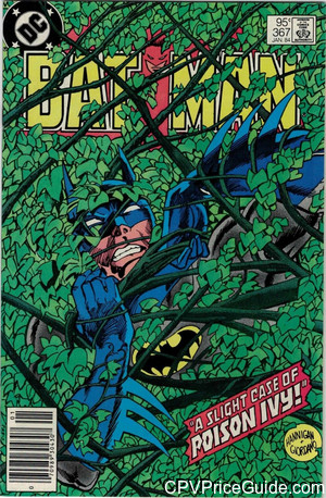 batman 367 cpv canadian price variant image