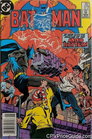 Batman #379 95¢ Canadian Price Variant Comic Book Picture