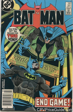 batman 381 cpv canadian price variant image