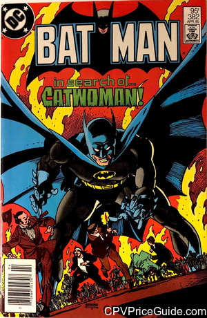 batman 382 cpv canadian price variant image