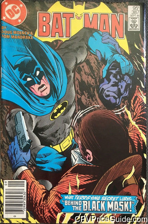 batman 387 cpv canadian price variant image