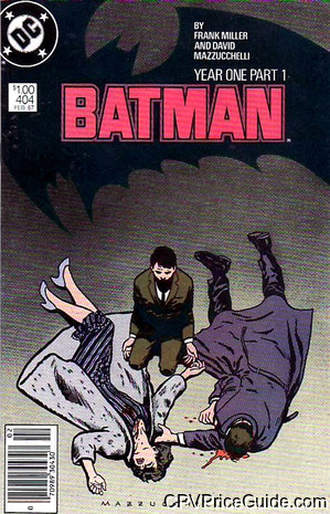Batman #404 $1.00 Canadian Price Variant Comic Book Picture