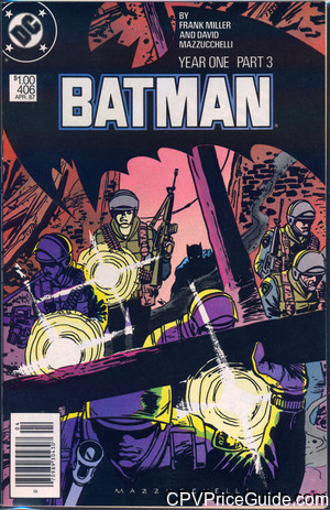 Batman #406 $1.00 Canadian Price Variant Comic Book Picture