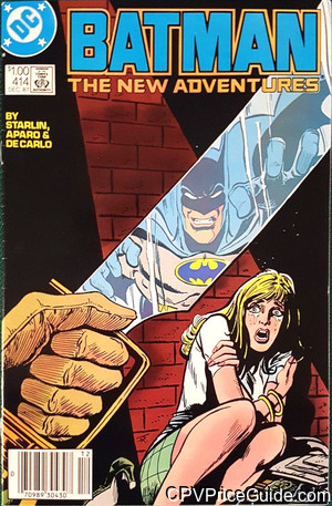 batman 414 cpv canadian price variant image