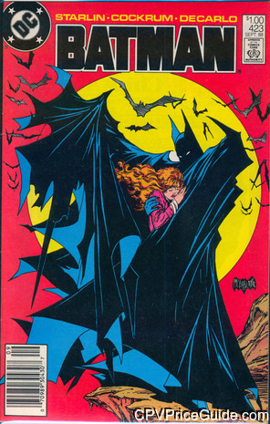 batman 423 cpv canadian price variant image