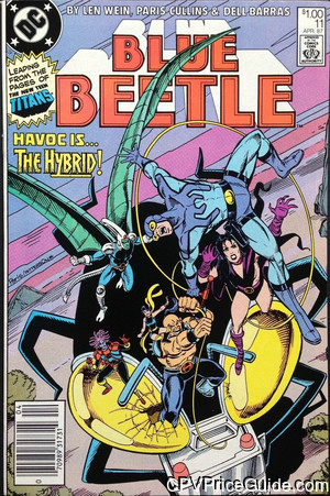blue beetle 11 cpv canadian price variant image