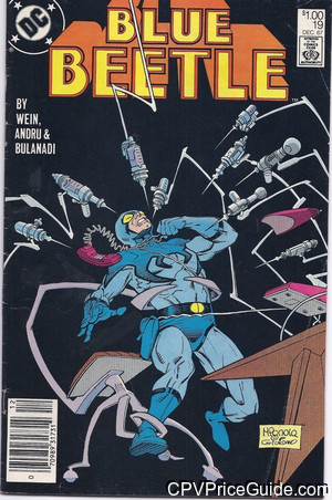 blue beetle 19 cpv canadian price variant image