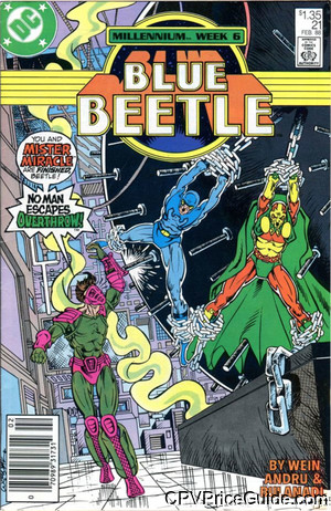 blue beetle 21 cpv canadian price variant image