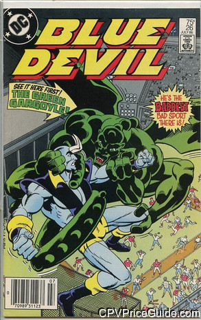 Blue Devil #26 95¢ Canadian Price Variant Comic Book Picture