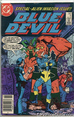 Blue Devil #6 95¢ Canadian Price Variant Comic Book Picture