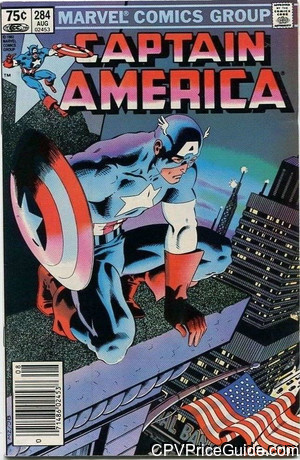 captain america 284 cpv canadian price variant image