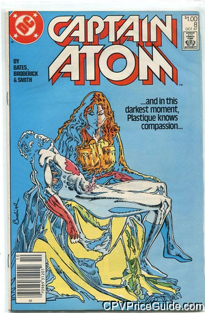 Captain Atom #8 $1.00 Canadian Price Variant Comic Book Picture