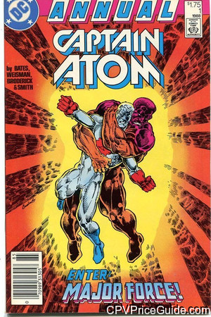 captain atom annual 1 cpv canadian price variant image