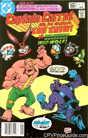captain carrot 11 cpv canadian price variant image