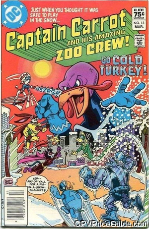 captain carrot 13 cpv canadian price variant image
