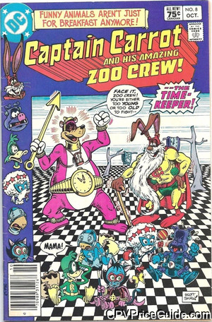captain carrot 8 cpv canadian price variant image