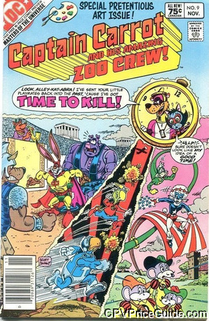 captain carrot 9 cpv canadian price variant image