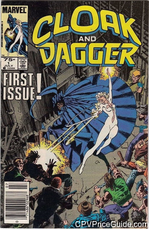 Cloak and Dagger #1 75¢ Canadian Price Variant Comic Book Picture