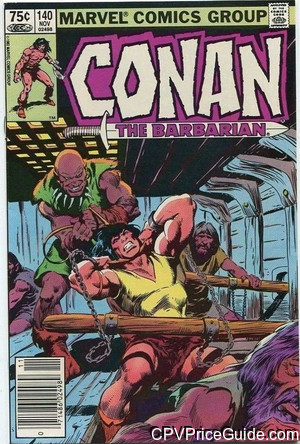 conan the barbarian 140 cpv canadian price variant image