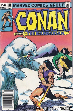 conan the barbarian 145 cpv canadian price variant image