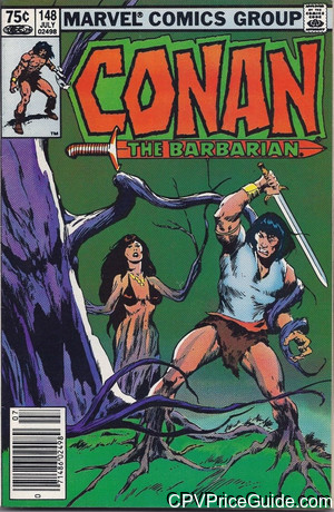conan the barbarian 148 cpv canadian price variant image