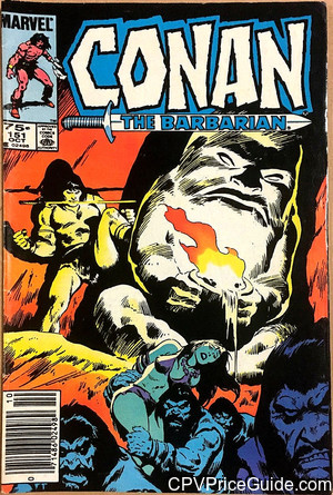 conan the barbarian 151 cpv canadian price variant image