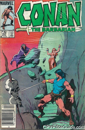 conan the barbarian 157 cpv canadian price variant image