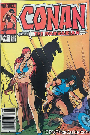 conan the barbarian 158 cpv canadian price variant image