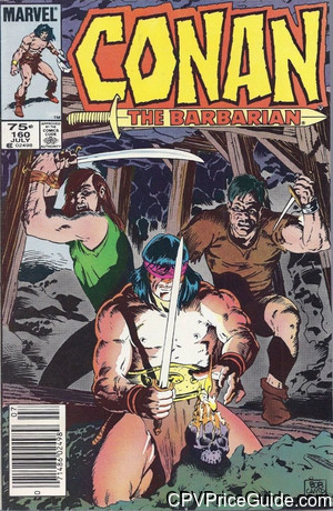 conan the barbarian 160 cpv canadian price variant image