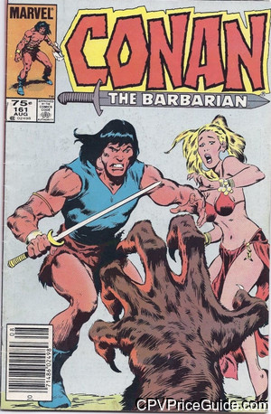 conan the barbarian 161 cpv canadian price variant image