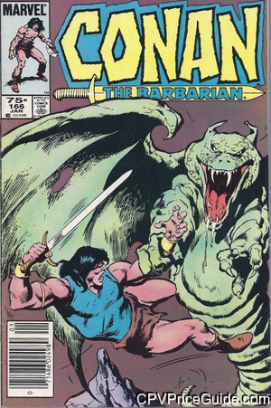 conan the barbarian 166 cpv canadian price variant image