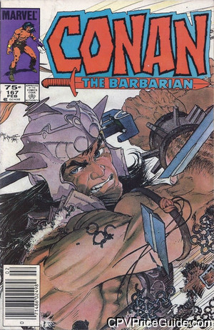 conan the barbarian 167 cpv canadian price variant image