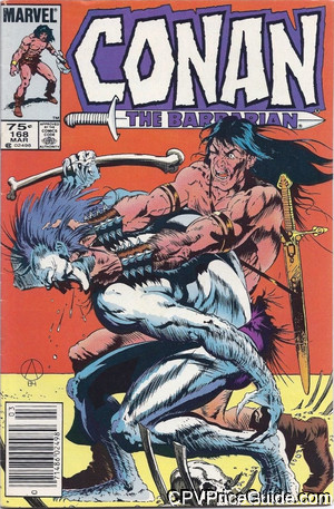 conan the barbarian 168 cpv canadian price variant image