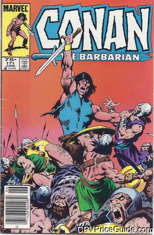 conan the barbarian 171 cpv canadian price variant image