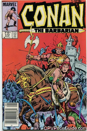 conan the barbarian 173 cpv canadian price variant image
