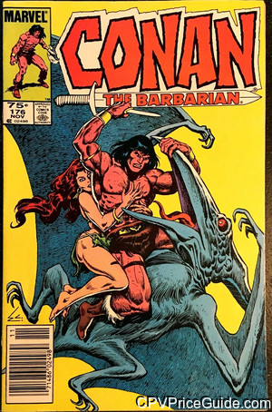 conan the barbarian 176 cpv canadian price variant image