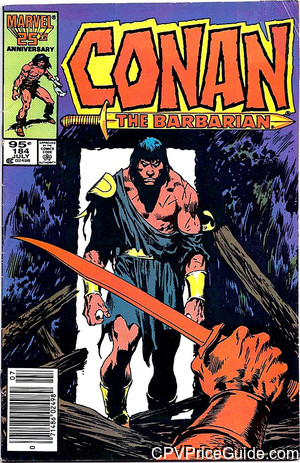 conan the barbarian 184 cpv canadian price variant image