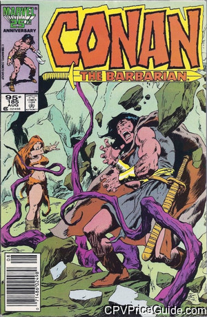 conan the barbarian 185 cpv canadian price variant image