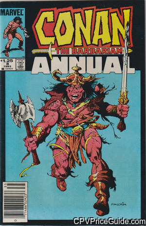 conan the barbarian annual 8 cpv canadian price variant image