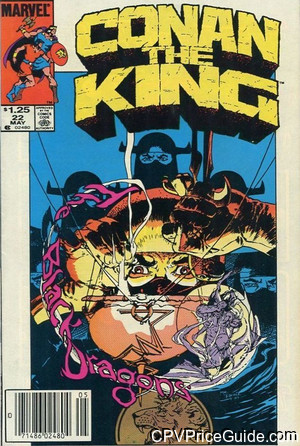 conan the king 22 cpv canadian price variant image